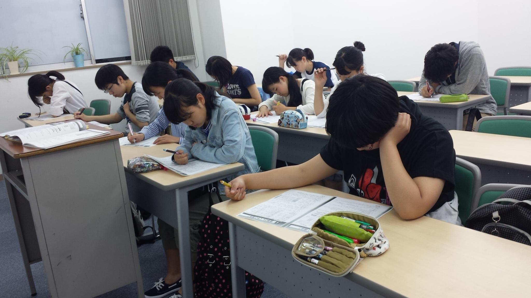 中2部活も勉強も頑張っています。宿題が多くて ...
